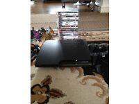 PS3 with games+skylanders