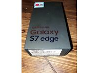 Samsung Galaxy S7 Edge. 32GB. Platinum Gold. Brand New, in sealed box.