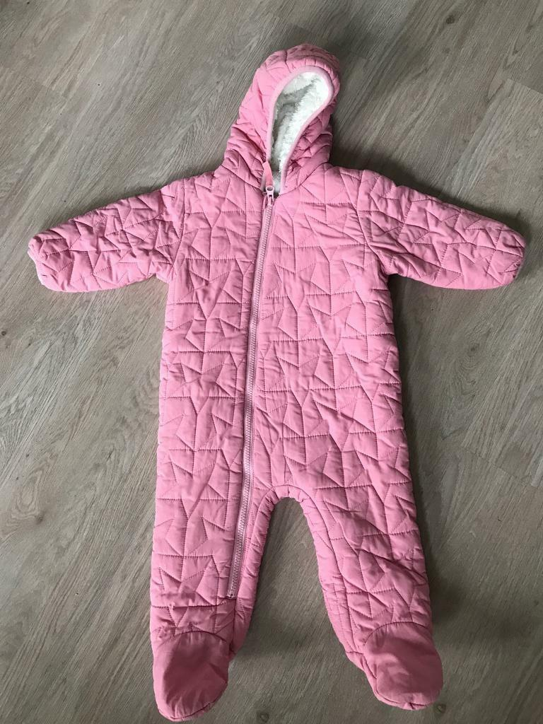 d914fdfdaf9f Next Baby girl snowsuit 9-12 Months