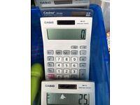 Calculators solar power Casio mx 85 m