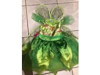 Tinker bell girls dress (aged 3-4)
