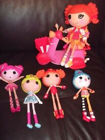 La La loopsy dolls and bike as seen (1 arm missing & no remote for bike) collect/deliver Stonehaven
