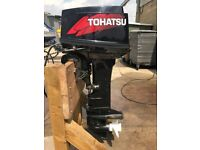 30HP TOHATSU OUTBOARD BOAT ENGINE ELECTRIC START