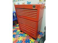 "Snap-on 40"" Roll cab tool box 40"" 75th anniversary edition RED Snapon"