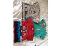 Set of 3 boys t shirts size 18-24 months (Jojo maman Bebe and John Lewis) in good condition.