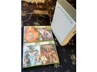 Xbox 360+controller+4 games