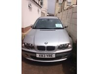 Bmw 3 series, silver 5 door, fully loaded