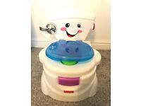 Fisher Price musical potty /training toilet