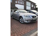 Lexus IS250 2006 silver manual fsh Full service history 1 prev owner, solid car