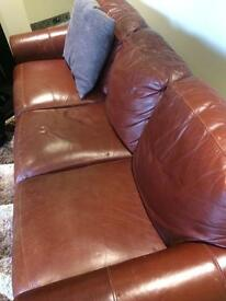 Reduced to sell! Don't miss out. Sofa and matching armchair!