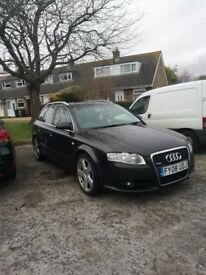 Audi A4 S-line 2008 ,103000 miles, service done on 08/03/2018