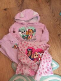 Paw patrol tracksuit and jumper 2-3 year