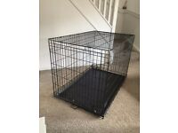 Extra Large XL dog training crate cage