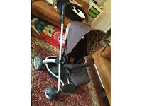 Mamas and Papas Solar Travel System including carry cot and stroller in good condition