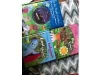 3 in the night garden books plus cd