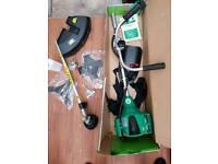 Petrol strimmer brush cutter
