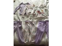 Girls M&S pyjamas age 3-4yrs (3 pairs)