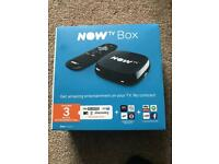 Now tv box - brand new 3 month entertainment pass