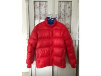 Moncler genuine vintage retro red down puffer jacket (1990s)