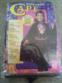 Childrens black cape- ideal for dress-up