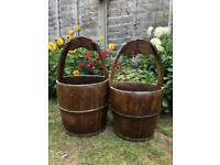 Antique Buckets £55 Each