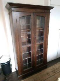 Shelving Unit, glass fronted
