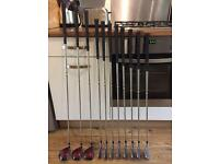 Set of Golf Clubs, Irons, Driver and Woods £80 O.N.O