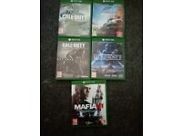 5 top quality games. Xbox one