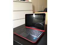 HP PAVILION TOUCHSCREEN 2 IN 1 CONVERTIBLE - RED - PERFECT CONDITION - NEW CASE INCLUDED