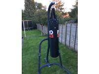 Punch bag with stand