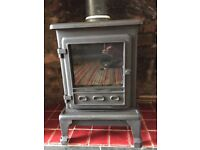 Firefox 5 Cast Iron Coal Effect Gas Stove - used