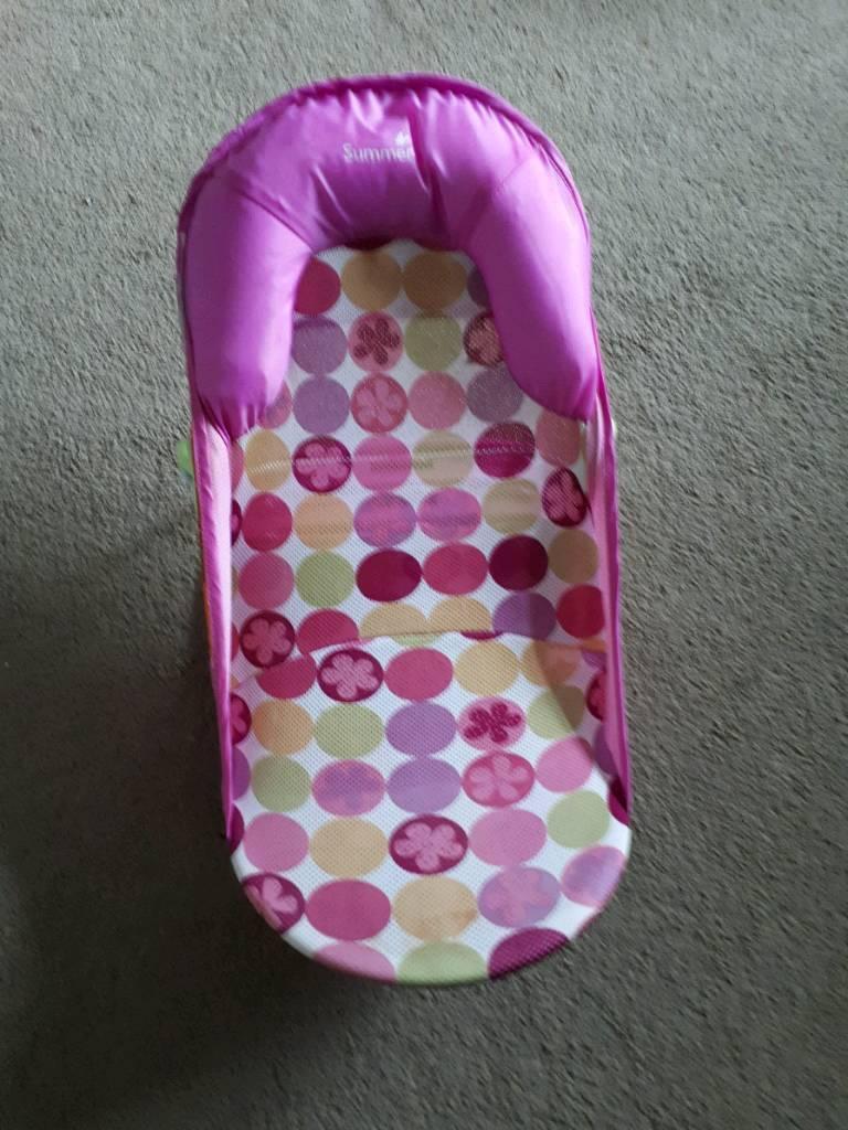 Pink baby bath seat | in Pontypridd, Rhondda Cynon Taf | Gumtree