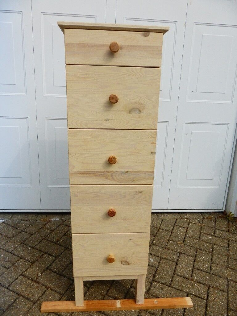 ikea tarva tall chest of drawers - very good condition | in fareham
