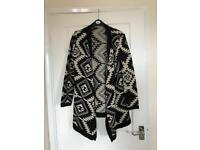 New look waterfall cardigan for sale - size M