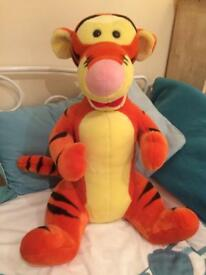 Tigger cuddly toy