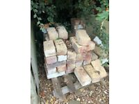 Approx 300 Reclaimed Bricks - free upon collection