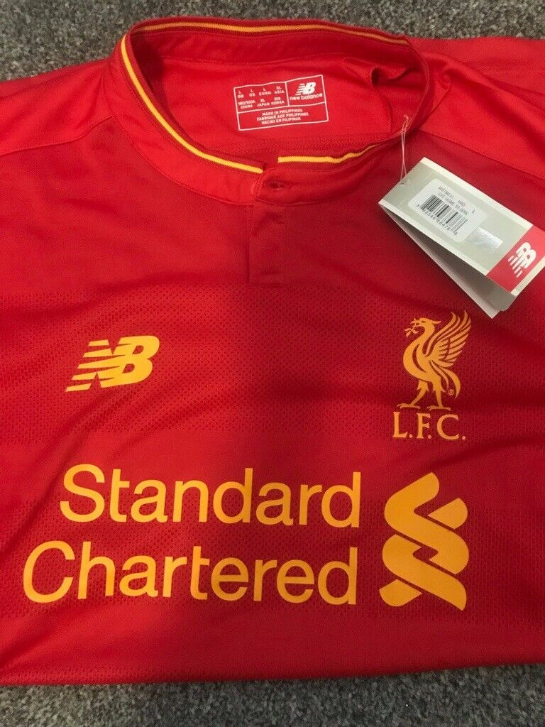 new style b18e9 93440 Liverpool home shirt 2016/17 | in Reading, Berkshire | Gumtree