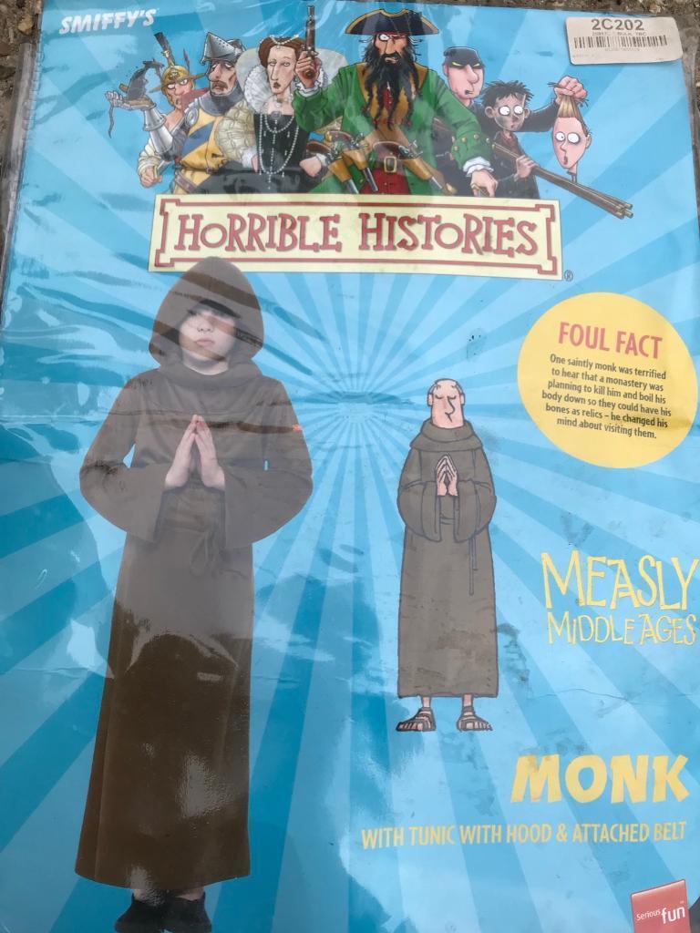Horrible Histories Children's Monk outfit