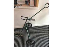 Very old golf trolley £999