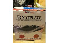 Brand new heated foot plate