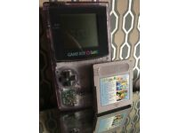 Gameboy Colour with 15 Games (Pokemon Blue)