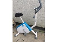 Domyos exercise bike with memory foam saddle. Free local delivery