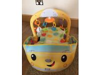 Fisher Price 3 in 1 Car Gym. Like new