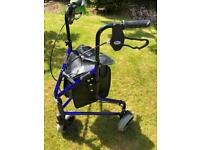 3 wheel rollator walking mobility support