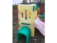Little tikes slide climbing frame