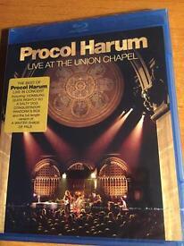 Procol Harum Live at the Union Chapel BluRay Disc