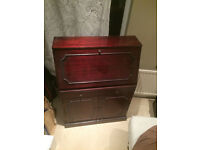Vintage Mahogany Veneer Bureau £30 ono