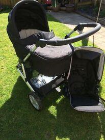 M&P Zoom pram/pushchair,excellent condition.
