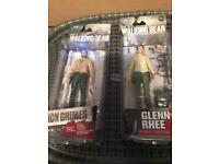 The walking dead collectible Glenn and Rick