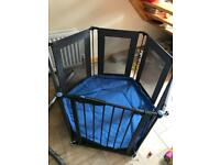 Lindam Playpen 3 in 1 fire guard, room divider with washable mat